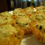 Creamy Spinach & Jalapeno Phyllo Cups