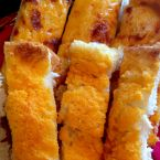 Smoke House Cheesy Garlic Bread