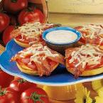 Bacon Tomato Bagel Melts