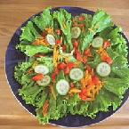 VEGETABLE AND CHEF SALAD