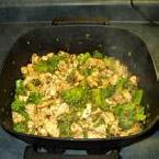 Sweet and Spicy Stir Fry Chicken with Broccoli
