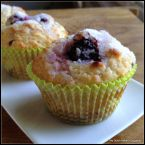 Blackberry-Lemon Muffins