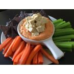 JordON's Buffalo Dip with Tofu Bleu Cheese