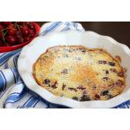 Sweet Dark Cherry Clafoutis