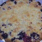 Lemon-blueberry Cobbler Pie
