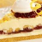 Wally's Cranberry Walnut Cheesecake Pie
