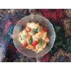 Curry Cauliflower Tomatoes with Pineapple