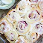 Raspberry Breakfast Rolls