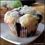 Lime and Coconut Blueberry Muffins