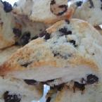 Hersheys Special Dark Chocolate Chip Scones