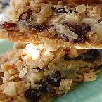 Double Good Raisin Bars