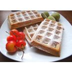 Simple buttermilk waffles