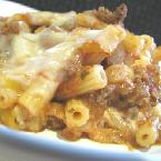 Cheesy Stuffed Baked Ziti