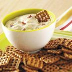 Dijon-Bacon Dip for Pretzels