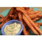 Sweet Potato Frys and Garlic Aioli