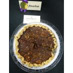 Fudge Pecan Pie by Rebecca Luttrell