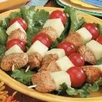 Chicken-Cheese Kabobs