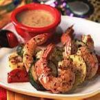 Bayou Shrimp and Veggies with Creole Mustard Sauce
