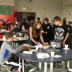 Wamogo Science 8 is Cooking with Chemistry 2015