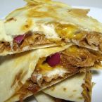 Barbecue Chicken Quesadillas