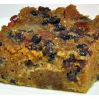 Cranberry Currant Pumpkin Bread Pudding
