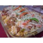 TBC's Three Cheese Spicy Italian Sausage Bake