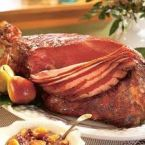 Country Ham in Apple Cider