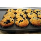 Rise and Shine Blueberry Muffins