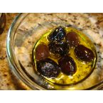A fancy (yet inexpensive) way to spice up olives.