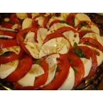 Add a Caprese Salad with Tomatoes and Mozzarella to Your Life.