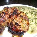 Garlic Rosemary Lambchops