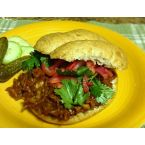 Jackfruit 'Pulled Pork' Sandwich