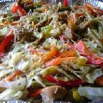 Pancit Bihon (Stir Fried Rice Noodles)