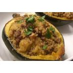 Moroccan Style Stuffed Acorn Squashes