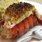 Broiled Stuffed Lobster Tail
