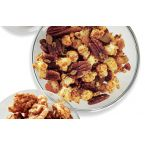 Spiced Pecans, Raisins and Popcorn!
