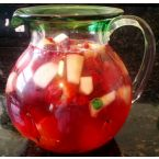 Raspberry White Sangria