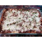 Three Cheese Lasagna with Veggies