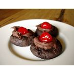 Fudgey Chocolate-Cherry Cookies