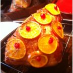 Angel Acres Cranberry Glazed Ham