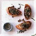 Chicken liver & Sage Crostini