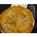Parent's Pie, A Double Crust Peach Pie by Bethanie Smith