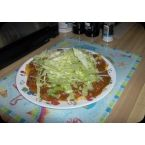 Mom's Green Chili Enchiladas