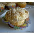 Pineapple Muffins with Coconut Streusel