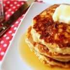 Sourdough Banana Pancakes