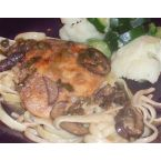 Chicken Marsala - a bit more healthy