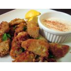 Fried Artichoke Hearts with Garlic Aioli
