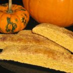 Pumpkin Crumble Biscotti Wedges