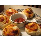No-Knead Pizza Rolls (Pepperoni, Hawaiian or BBQ Chicken)