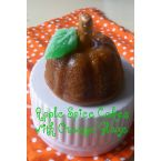 Mini Holiday Apple Spice Cakes with Orange Glaze
